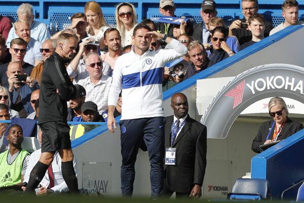 Tréner FC Chelsea Frank Lampard.