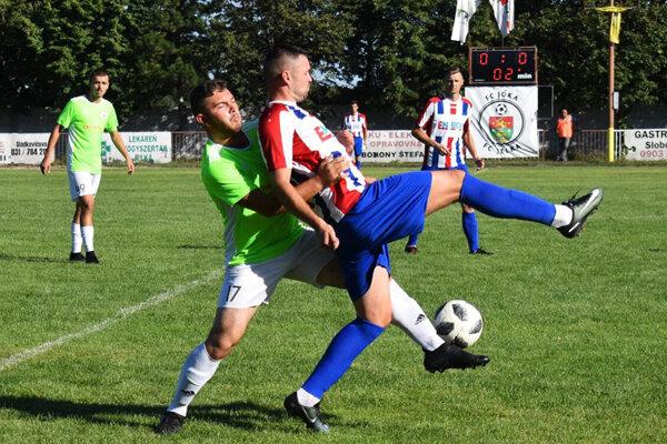 Futbalisti Paty získali v 3. kole prvé body, keď zvíťazili v Jelke 3:2.