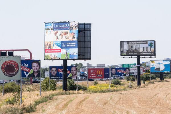 Pochybné billboardy na bratislavskom obchvate
