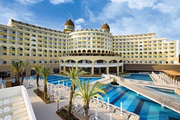 HotelKirman Sidemarin Beach & Spa 5*, Turecko