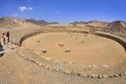 Ilustračné foto. V chránenej oblasti Caral sa nachádzajú aj pozostatky pyramídových štruktúr či kruhových námestí.