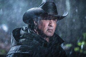 Sylvester Stallone ako Rambo vo filme Last Blood.