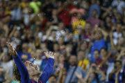Antoine Griezmann v drese FC Barcelona.