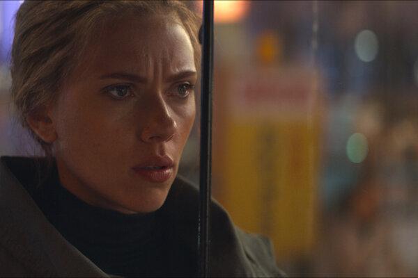 """Scarlett Johansson vo filme """"Avengers: Endgame."""""""