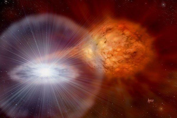 Supernovy prezrádzajú minulosť.
