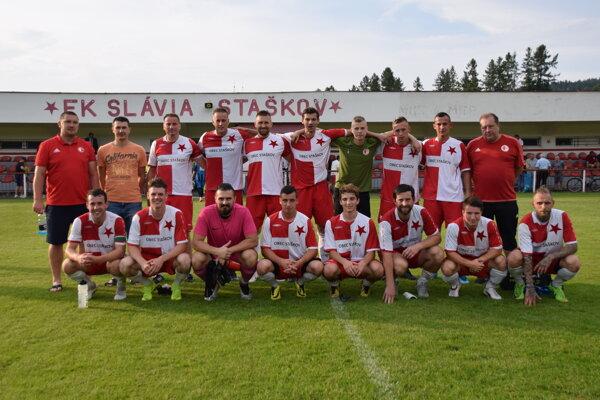 FK Slávia Staškov.