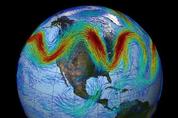 Jetstream ovplyvňuje počasie u nás aj v USA.