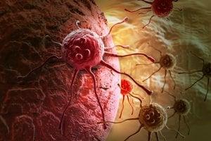 Rakovina mutuje a rozvetvuje sa.