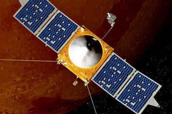 Vizualizácia družice MAVEN.