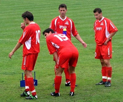 maroš choma (v strede) sa takmer opäť stal hrdinom.