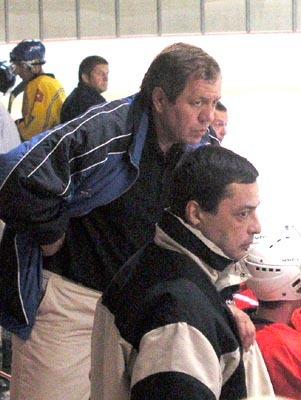 trénerská dvojica banskej bystrice – ján hegyi a karol ondreička.