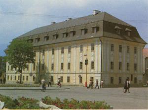 budova župného domu, v ktorom sídli turčianska galéria