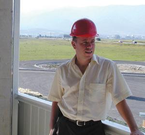 john russell, riaditeľ závodu ggb