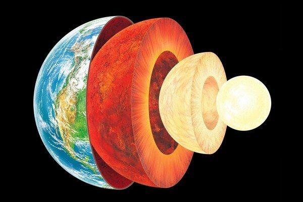 V strede Zeme je ešte teplejšie.