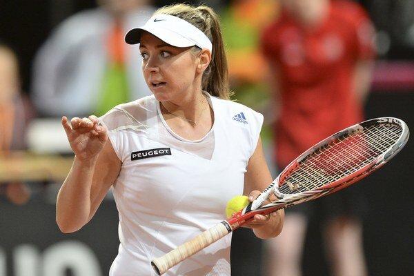 Slovenská tenistka Kristína Kučová.