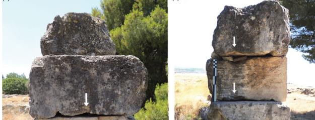 Na kvádroch v Korinte objavili drážky. Nový výskum naznačuje, na čo mohli slúžiť.