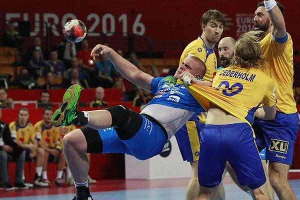 Švédski hádzanári na šampionáte prehrali o gól s Nemeckom.