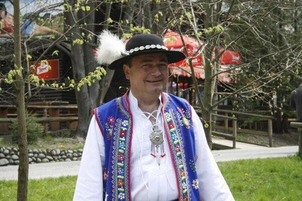 Ján Gondek, starosta obce Lesnica.