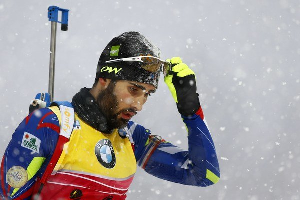 Francúzsky biatlonista Martin Fourcade.