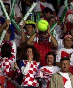 chorvátski diváci prišli do bratislavy v hojnom počte