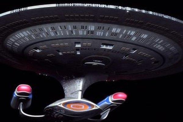 Vesmírna loď Enterprise.