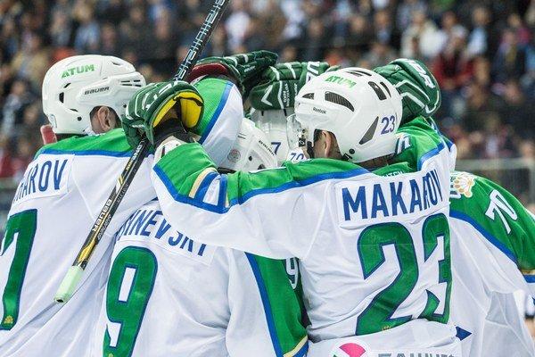 Hokejisti Salavatu Julajev Ufa vybojovali víťazstvo vo Vladivostoku.