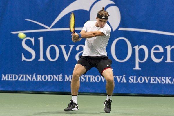 Jozef Kovalík skvelo rozohraný zápas nezvládol doviesť do víťazného konca.