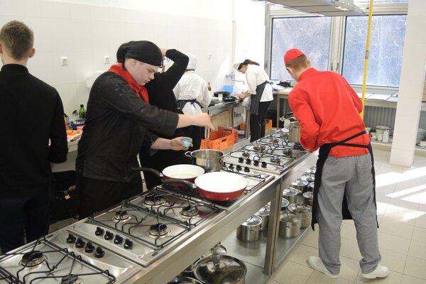 Kuchárska časť súťaže