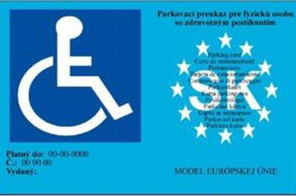 Parkovací preukaz