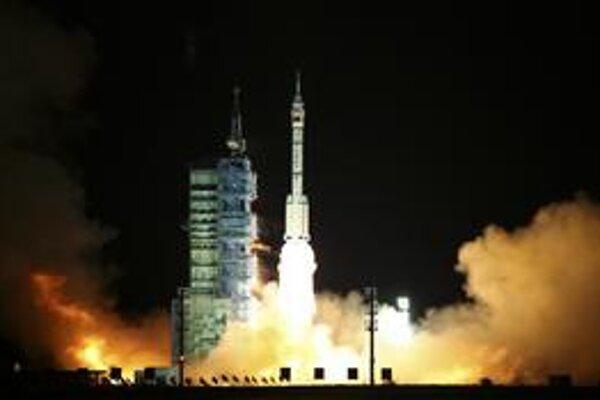 Štart rakety Šen-čou 8.