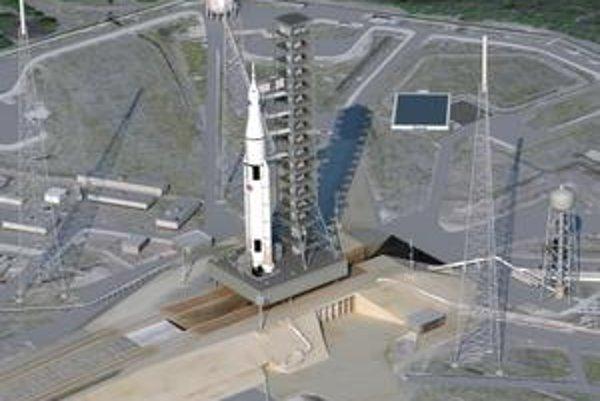 Nový vesmírny system kombinuje staršie technológie s novou vesmírnou loďou.
