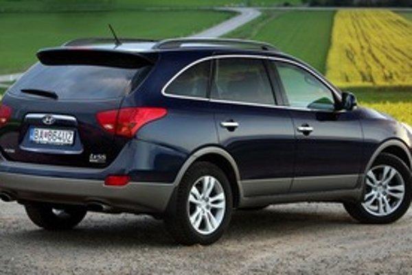 Hyundai ix55 sa na Slovensku predáva s tromi výbavami, ale len jedným motorom a prevodovkou.