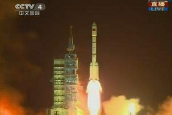 Čínska testovacia vesmírna stanica Tiangong1 včera odštartovala.