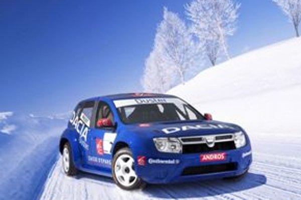 Dacia Duster určená na preteky má s budúcim hromadne vyrábaným modelom spoločnú iba siluetu a niekoľko detailov na karosérii.
