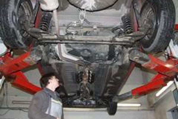 Dacia  je v stále dobrej kondícii bez výraznej korózie a iných nerestí.