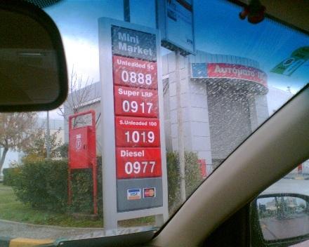 ceny phm v grécku