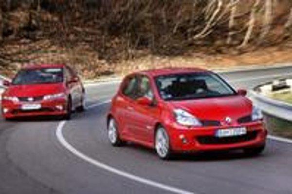 V čase, keď motoristický svet zažíva renesanciu turbomotorov, stále existujú automobilky, ktoré idú pri stavbe športových modelov vlastnou atmosférickou cestou. Jednými z posledných zástupcov tejto kategórie sú Honda Civic Type R a Renault Clio Sport