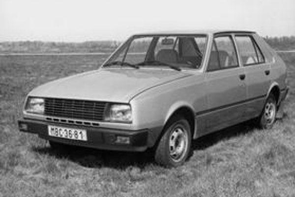 Škoda Favorit v prvotnej podobe ako funkčný prototyp. Našťastie  do vývoja zasiahol Nuccio Bertone a sériová karoséria Favoritu bola o niečo lepšia. Najväčším prínosom  pre automobilku bol  motor vpredu a pohon prednej nápravy.