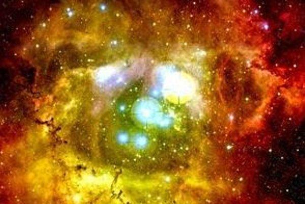 Máme šťastie, že vidíme aspoň štyri percentá kozmu. Na obrázku pohľad do stredu hmloviny Rozeta.