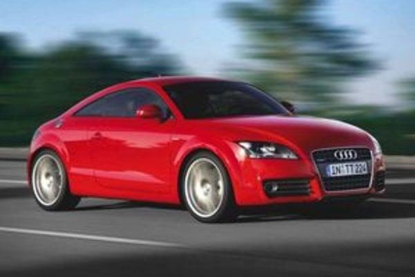 Vznetové Audi TT vyprodukuje 140 g CO2 na kilometer jazdy.
