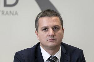 Konrád Rigó, štátny tajomník ministerstva kultúry.