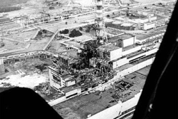 Černobyľská nehoda v roku 1986.