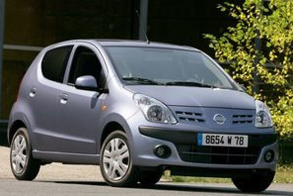 Nissan Pixo je dvojníkom miniauta Suzuki Alto.