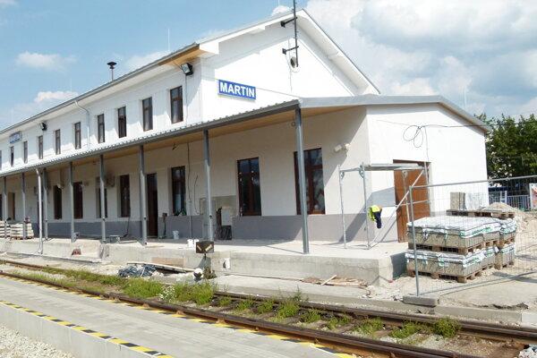 Rekonštrukcia stanice ide do finále.