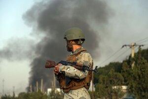 Vojak v Kábule (ilustračné foto).