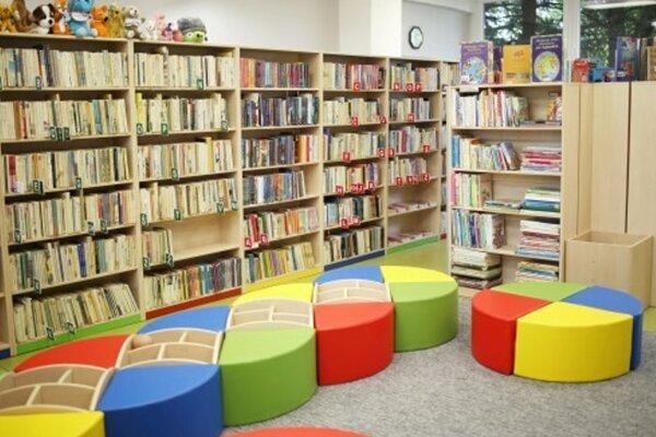 Vynovené priestory prievidzskej knižnice.