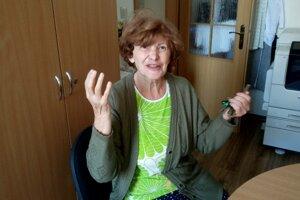 Dôchodkyňa Marta Reváková prišla o obedy.