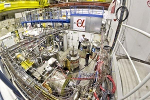 Experiment Alpha, kde vytvorili stabilnejšiu antihmotu.
