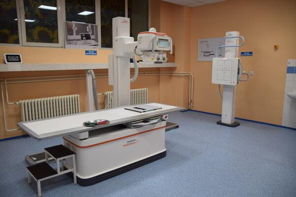 Prístroj novej generácie MULTIX Impact Siemens Healthineers má vysokú kvalitu obrazu a nízku radiačnú záťaž.