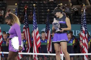 Jedna šampiónka odchádza, nová sa zrodila. Bianca Andreescová zdolala vo finále US Open Serenu Williamsovú.